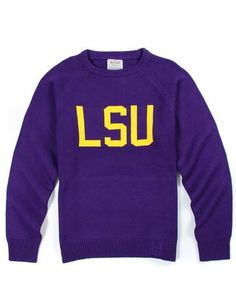ae0fa0ae LSU Unisex Vintage Sweater Lsu Gear, Team Apparel, Lsu Sweatshirt, Vintage  Sweaters,
