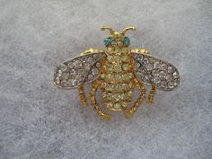 Vintage Kenneth J. Lane Bee Pin