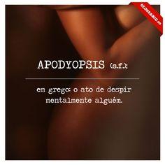 Apodyopsis - Glossário