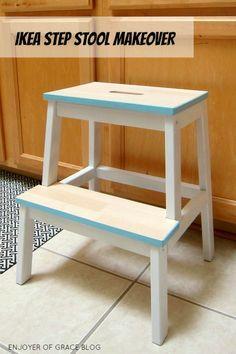 Ikea Bekvam Stool Hacks On Pinterest Step Stools Stools