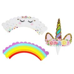 Regenboog & Unicorn Cupcake Wrapper met Toppers 12st | Unicorn | Cupcake-store and More! Girl Birthday, Birthday Parties, Unicorn Cupcakes, Cupcake Wrappers, Cute Girls, Outdoor Decor, Store, Google, Birthday Celebrations
