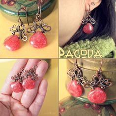 """pagoda earrings"" - Kharisma Sommers (popnicute)"