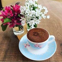 Coffee Love, Coffee Cups, Tea Cups, Good Morning Coffee, Morning Mood, Turkish Coffee, Beautiful Morning, Tableware, Desserts
