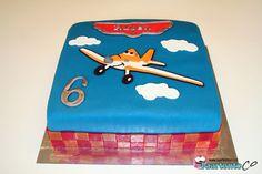 Planes Taart *Planes Cake