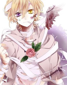 ADOPTED Stride is a fallen angel. His wings are completely tattered and broken, . ADOPTED Stride i Manga Boy, Manga Anime, Anime Art, Hot Anime Boy, Cute Anime Guys, Anime Boys, Blonde Anime Boy, Anime Angel, Anime Fallen Angel