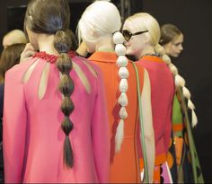 Valentino Fall 2014 - Backstage - Photographed by Kevin Tachman