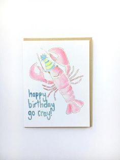 Funny get well soon feeling better card cat lady notecard funny funny birthday card lobster pun card nautical birthday bookmarktalkfo Choice Image