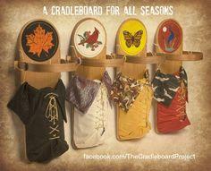 The four season represented in the Cradleboard Beadwork by artist Douglas K. Limon. facebook.com/Limon.Fine.Art
