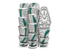 Bvlgari Serpenti 珠寶腕錶,售價:TW$ 3,473,000元