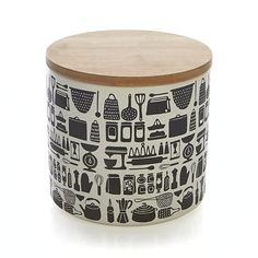 Kitchen Icon 64 oz. Canister  | Crate and Barrel