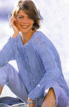 Тонкий свитер | Вязание и рукоделие