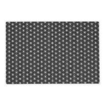 Flower Of Life Sacred Geometry Laminated Place Mat