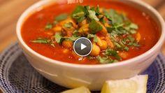 Tunesische kruidige soep met lamsvlees - recept | 24Kitchen / Sub the chick peas