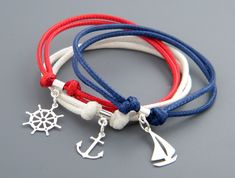 Plata y cable - un conjunto de marinero de Joanna G. por DaWanda.com