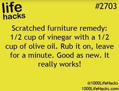 1000 life hacks is here to help you with the simple problems in life. Posting Life hacks daily to help you get through life slightly easier than the rest! Household Cleaning Tips, House Cleaning Tips, Diy Cleaning Products, Cleaning Solutions, Cleaning Hacks, Household Cleaners, Cleaning Recipes, 100 Life Hacks, Simple Life Hacks