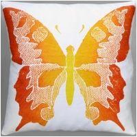Dermond Peterson Butterfly Clemintine Pillow