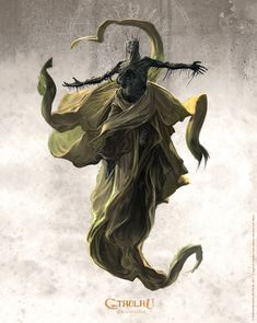 ArtStation - The King in Yellow, Loïc Muzy Dark Fantasy Art, Dark Art, Arte Horror, Horror Art, Imagenes Dark, Call Of Cthulhu Rpg, Cthulhu Art, Lovecraftian Horror, Eldritch Horror