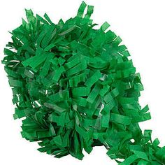 This Green Tissue Festooning makes it easy to give your Mardi Gras, St. Patrick's or any other float a vibrant new look.
