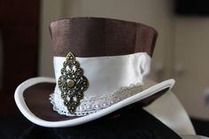 Steampunk - Steampunk Miniature Top Hat by Northwic