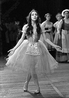 Natalia Bessmertnova in Giselle  Bolshoi photo archives
