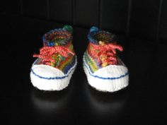 PATTERN - Knitted High Top Booties - Now Written for Multiple Sizes. $6,00, via Etsy.