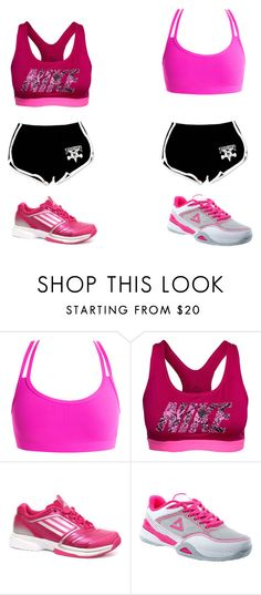 """Workout Outfit"" by asia-663 ❤ liked on Polyvore featuring NIKE, adidas and Peak"