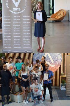 Glückliche Gesichter: In der Kategorie «Erlebnislocations» vom Swiss Location Award 2019 hat das Enea Baummuseum den 1. Platz erreicht, das Oana in Ebikon hat den Publikumspreis gewonnen.