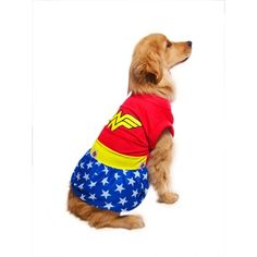 Fantasia Mulher Maravilha Futon Dog - MeuAmigoPet.com.br #petshop #cachorro #cão #meuamigopet