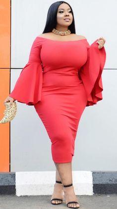 My World — Winnie - Real Curves Beautiful Curves, Beautiful Black Women, Plus Size Dresses, Plus Size Outfits, Plus Size Fashion For Women, Plus Fashion, Fashion Styles, Curvy Plus Size, Voluptuous Women