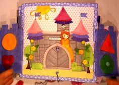 Quiet book Princess Sofia Princess Quiet Book, Doll Toys, Dolls, Princess Sofia, Busy Book, Quiet Books, Nursery Rhymes, Puppets, Fairy Tales