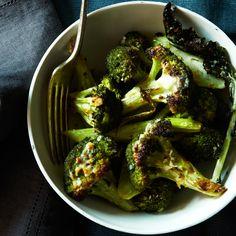 Roasted Garlic-Parmigiano Broccoli Recipe - Grace Parisi | Food & Wine