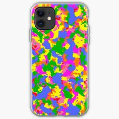 'Rainbow Camouflage design' iPhone Case by MidnightBrain Cell Phone Cases, Iphone Cases, Canvas Prints, Art Prints, Outdoor Activities, Iphone 11, Floor Pillows, Camouflage, Duvet Covers