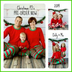 Matching Christmas PJ's by N4OCD on Etsy, $25.00