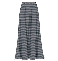 M6654 :   MISSES' SKIRTS IN 7 LENGTHS: Semi-fitted or loose-fitting skirts have elasticized waistband (waist down), and narrow hem.  Designed for medium weight moderate stretch knits.  SUGGESTED FABRICS: Jerseys, Cotton Knit, Ponte Knit, Sweater Knit.