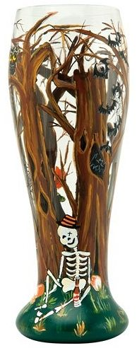 Haunted Forest Pilsner Glass by Lolita