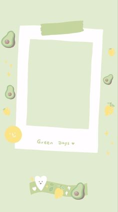 Avocado is green Polaroid Picture Frame, Polaroid Pictures, Polaroids, Creative Instagram Stories, Instagram Story Ideas, Instagram Frame Template, Photo Collage Template, Instagram Background, Framed Wallpaper