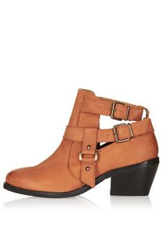 cut out western boot