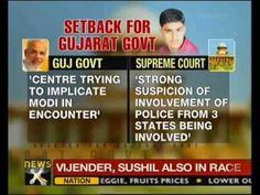 SC dismisses Gujarat's plea on CBI probe in encounter killing  http://www.newsx.com/videos/sc-dismisses-gujarats-plea-cbi-probe-encounter-killing