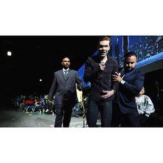 cameronmonaghan: Jerome being escorted out of the panel at Jerome Gotham, Gotham Joker, Victor Zsasz, Wayne Enterprises, Jonathan Crane, Jerome Valeska, Cameron Monaghan, Love Me Forever, Dc Universe