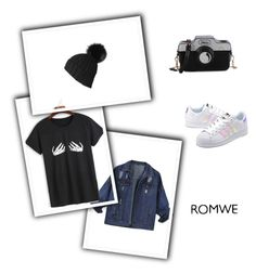 """""""Untitled #48"""" by palma-z ❤ liked on Polyvore featuring Black and adidas Originals"""