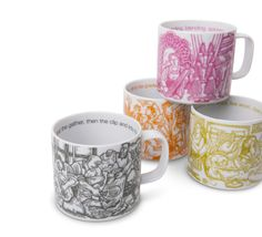 wool journey mugs by The Herdy Company