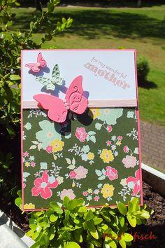 Karte - Kartenbastelei - Muttertag - Karte zum Muttertag - Stampin' Up