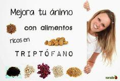 TU SALUD Y BIENESTAR : Mejora tu ánimo con alimentos ricos en triptófano