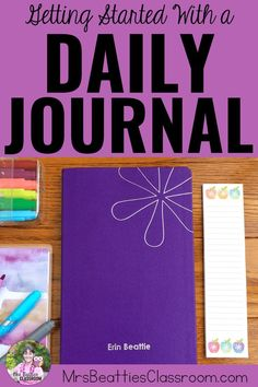 Keeping a daily journal is an excellent way to focus on gratitude, get organized, and set goals. Take a look at this post for great product choices, inspiring journaling ideas, and grab a FREE printable month-long journaling challenge! Daily Journal, Journal Prompts, Bullet Journal, Teaching Strategies, Teaching Writing, Teaching Ideas, Teacher Inspiration, Cool Writing, Day Plan