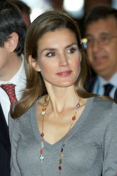 MYROYALS &HOLLYWOOD FASHİON: Princess Letizia Attends 'Volunteer State Congress' in Pamplona
