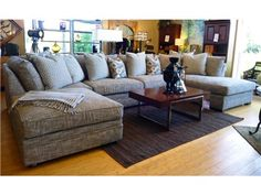 GODFREY 5 PIECE SECTIONAL - N SERIES -INCLUDES 25% ADD