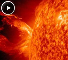 FARSIDE ERUPTION: Actually, May did begin with a solar flare--on the farside of the sun. An active region located behind the sun's eastern limb erupted during the early hours of May 1st, hurling a plume of red-hot debris into space. Coronagraph images from NASA's twin STEREO probes confirm that a CME emerged from the blast site. Earth was not in the line of fire. Next week, however, we might be as the sun's rotation turns the active region toward our planet.
