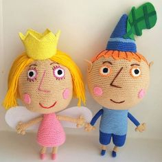Elf Ben By Ben and Holly's Little Kingdom PDF by Amigurushki Crochet Doll Pattern, Crochet Dolls, Ben Elf, Ben E Holly, Yarn Sizes, Cute Crochet, Stuffed Toys Patterns, Amigurumi Doll, Ideas Para Fiestas