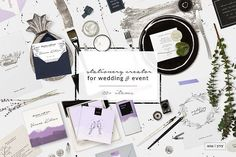 scene creator - wedding event decor by ana & yvy on creativemarket, Graphic Design Resources, Templates, Small Business