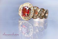 Engagement ring, reflection